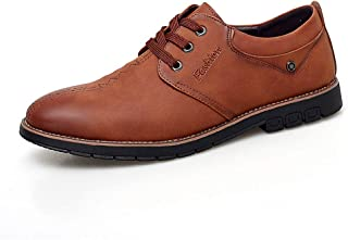 Fashion Shoes,Casual Shoes Shoes Oxford Shoes for Men Formal Shoes Lace Up Style OX Leather Classic Solid Color Casual Business Outsole Personality Shoes Oxford Shoes
