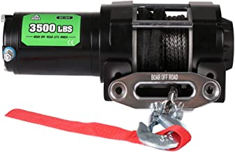 Offroad Boar 3500Lbs Electric Winch for ATV/UTV Boat (Synthetic Rope)