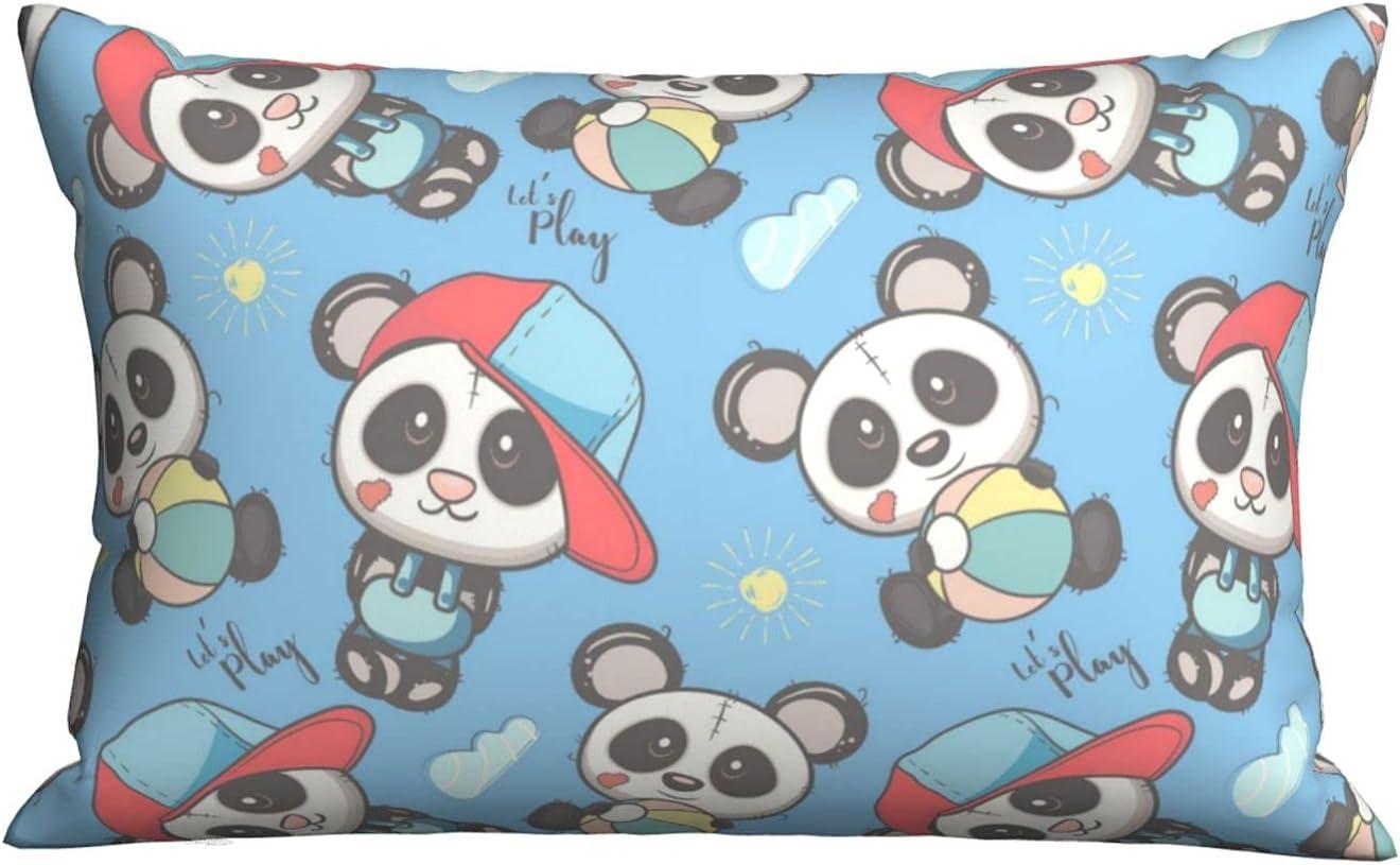 Well-Behaved Little Pandas Pillows Max 41% 5% OFF OFF Bed Sleepi Pillowcase