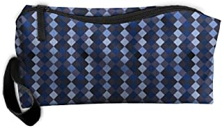 DHIU5W Bmp-pattern-harlequin-large Cosmetic Toiletry Bag Makeup Pouch Travel Hanging Organizer Bag Portable Storage Bag