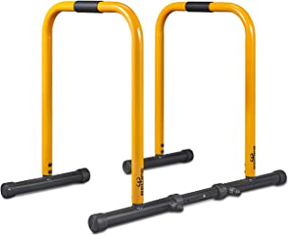 RELIFE REBUILD YOUR LIFE Dip Station Functional Heavy Duty Dip Stands Fitness Workout Dip..