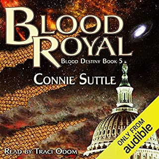 Blood Royal audiobook cover art