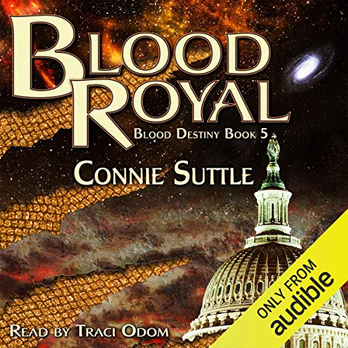 Blood Royal audiobook cover art