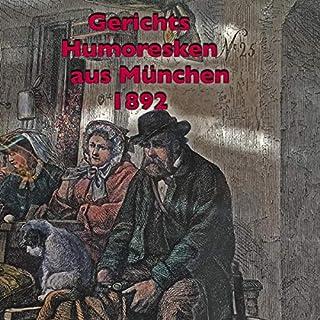 Gerichtshumoresken aus München 1892 Titelbild