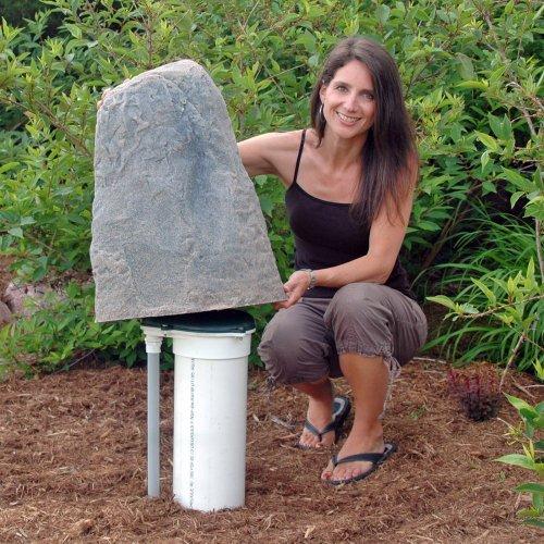 Dekorra Products 107-AB Artificial Rock Enclosure - Autumn Bluff