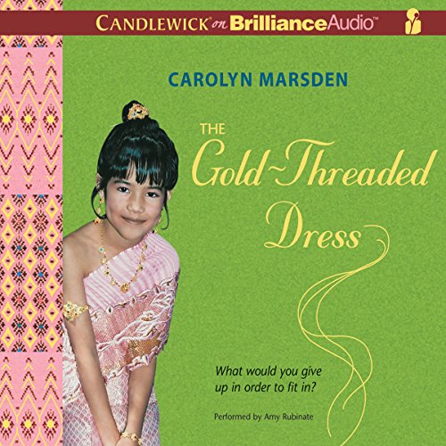 The Gold-Threaded Dress audiobook cover art