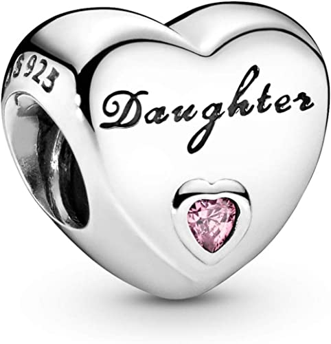 Pandora Jewelry Daughter's Love Cubic Zirconia Charm in Sterling Silver