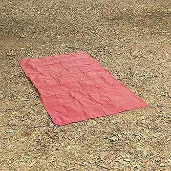 Msr Universal 2 Regular Bâche pour Empreinte de Pied Mixte, Rouge, Regular-82 x 48 inches