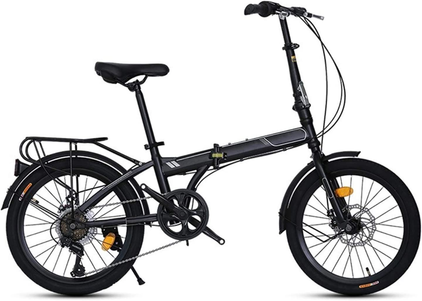 San Antonio Mall LXJ Folding Bicycle 7-Speed Max 47% OFF Mechanical and Safe Disc Brake Rel