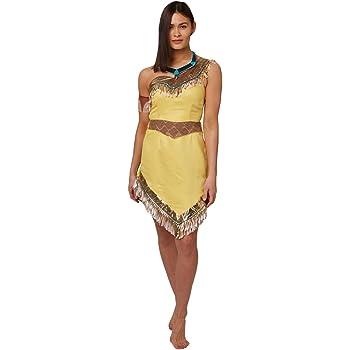Rubies Pocahontas – Disfraz de nativa americana oficial, de ...