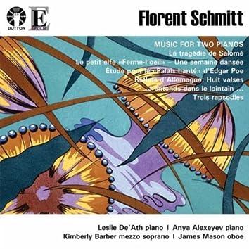 Florent Schmitt - Music for Two Pianos