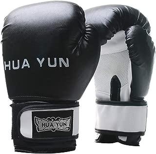 KDXBCAYKI Medio Dedo Guantes de Boxeo Profesional Adulto Sanda Muay Thai Dedo Lucha contra la Bolsa de Arena Formaci/ón de Guantes de Boxeo