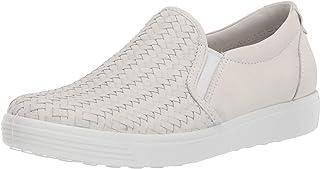 حذاء رياضي نسائي ناعم منسوج 7 بدون رباط II من ايكو باللون الأبيض الظلي، مقاس 37 (للسيدات 6-6. 5) M