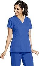 Grey's Anatomy 3-Pocket V-Neck Top for Women - Modern Fit Medical Scrub Top