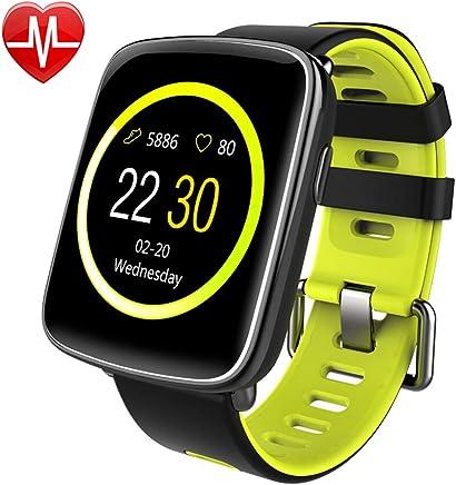 Willful Montre Connectée Femmes Homme Enfant Smartwatch Podometre Cardio Bracelet Connecté Etanche IP68 Cardiofréquencemètre Sport Tracker