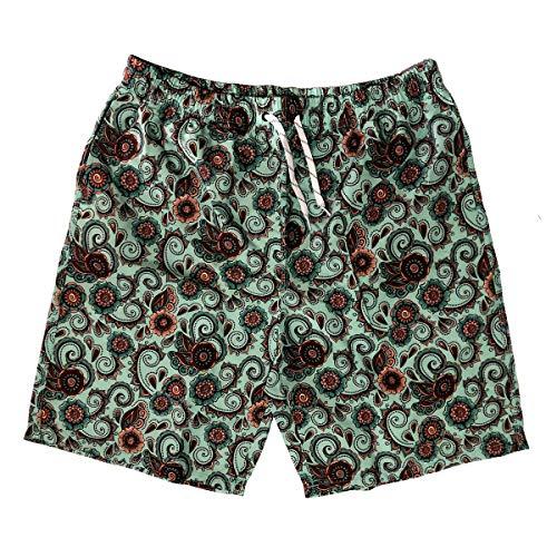 nothing Pantalones de playa para hombre, sueltos, de cinco puntos, para playa, para natación, deportes, ropa de playa