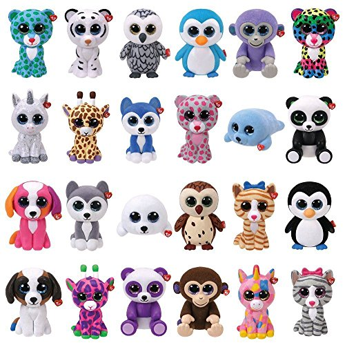 TY Beanie Boos - Mini Boo Figures - Blind Box (5 Packs Supplied)