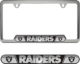 Team ProMark (TEK7V) NFL Oakland Raiders License Plate Frame