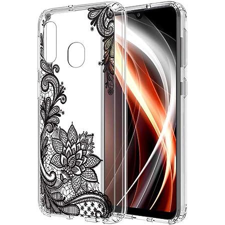 ZhuoFan Coque Samsung Galaxy A20e, Etui en Silicone 3D Transparente avec Motif Dessin Antichoc Souple TPU Housse de Protection Case Cover Coque pour ...