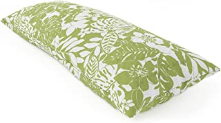 Tommy Bahama Tropical Print Body Pillow (20 x 48) - Available In Several Print Options - Hypoallergenic - Great For Tropical Theme Rooms (Tropical Leaves)