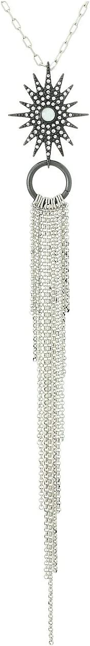 Lucky Brand - Stardust Tassel Necklace