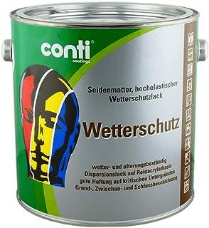 Conti Wetterschutzfarbe 2,5 Liter, RAL 7016: Anthrazit