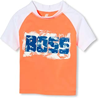 The Children's Place Baby Boys Graphic Short Sleeve Rash Guard