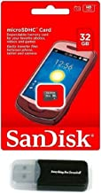 32GB SanDisk Micro SDHC Class 4 32G TF Memory Card works with Samsung GALAXY Tab 7.0 Plus Galaxy S II Epic 4G Touch Cell Phone with Everything But Stromboli Card Reader