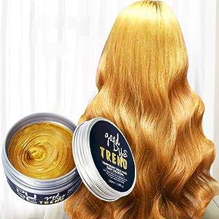 HOLEBAY-JP ファッションウォッシャブル7色ヘアカラーポマードワックスマッド染料スタイリングクリーム使い捨てdiyヘアカラーワックス 染毛剤 最新