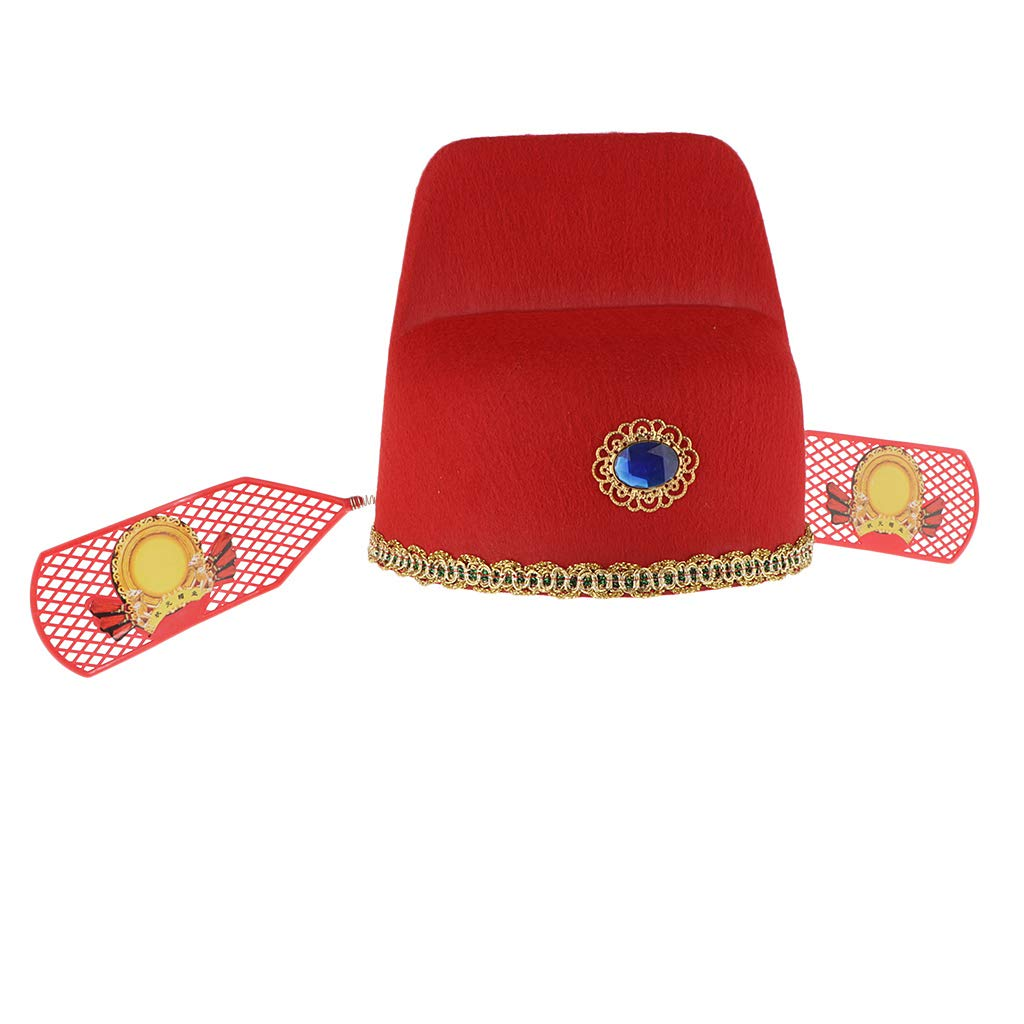 Ancient Chinese Tradition Top Hat Wedding Groom/'s Hat Official Post Cosplay