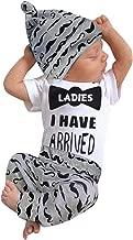 3Pcs Baby Boy Clothes Mommy's New Man Print Bodysuit Summe Cotton Short Sleeve Romper Moustache Pants+Hat Outfits Set