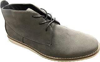 Krazy Shoe Artists Republic | Krazy Republic Suede Desert Men's Dark Grey Chukka Boot