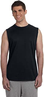 Men's Ultra Cotton Double Needle Sleeveless T-Shirt