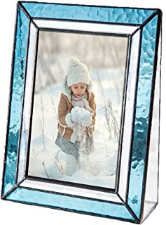 Blue Picture Frames 4x6 Vertical Photo Table Top Turquoise Home Décor J Devlin Pic 401-46V