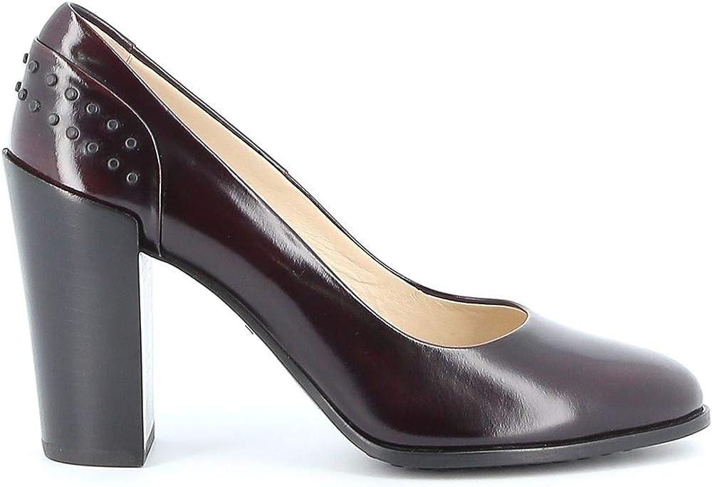 Tod`s luxury fashion donna,decolleté,scarpe con il tacco per donna,in vera pelle al 100% XXW75B0CG30SHAL822
