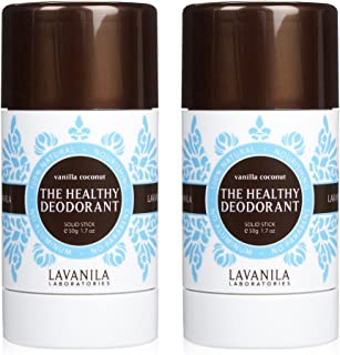 Lavanila The Healthy Deodorant Vanilla Coconut 2 ounce (2 pack)