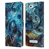 Official Cosmo18 Blue Jupiter Fantasy Leather Book Wallet