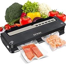 Vacuum Sealer Machine, Food Sealers Vacuum Packing Machine, AFMAT Food Vacuum Sealer, Automatic Vacuum System for Food Sav...