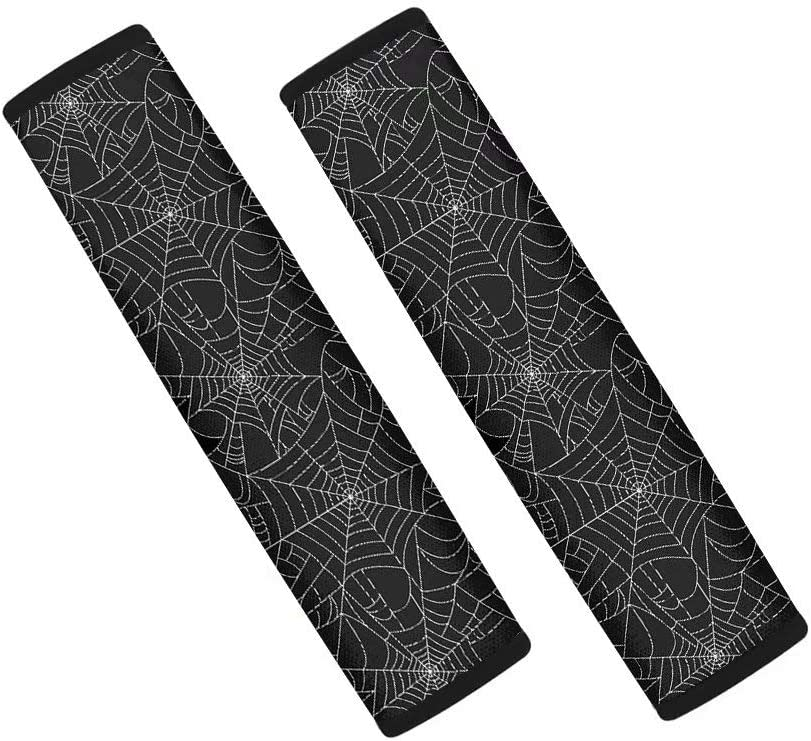 Forchrinse Spider Web Manufacturer regenerated product Car Seat Belt Soft Pads Cover Seatbelt Sho store