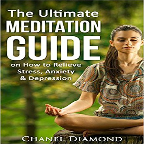 Meditation: The Ultimate Meditation Guide on How to Relieve Stress, Anxiety & Depression audiobook cover art