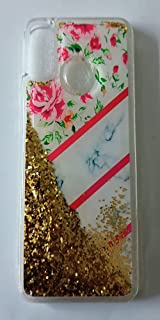 Back Cover For Oppo A15 / A15S (Glitter Gold)