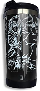 QEHAO Final Fantasy Xv ~ Cast Coffee Travel Mug Cup Stainless Steel Vacuum Insulated Tumbler 13.5 Oz