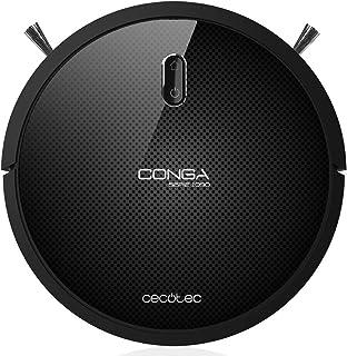 comprar comparacion Cecotec Conga Serie 1090 1400 Pa, Tecnología iTech Space, Aspira, Barre, Friega y Pasa la Mopa, 5 Modos, 160 min Autonomía...