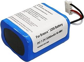SHINGA 【最新版】ブラーバ 380jバッテリー互換 7.2V 3200mAh for Irobot Braava 380J / 380T / Mint Plus 5200 5200c 5200B 対応 大容量 ニッケル水素 充電池
