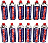 12 Cartucho Gas Butsir Cartucho de Gas Butano B-250 Envio 24Horas Por Asm...