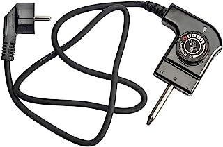 MIRTUX Câble pour fer à rôtir avec thermostat Modèle CTW-300. Puissance : 250 V 10 A. Convient pour différents modèles de ...