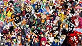 puzzle 1000 piezas 3D madera Adultos Rompecabezas juego Juguete Niño niña regalo de cumpleaños/Personaje de anime Después de la finalización Tamaño total: (H-50 cm x M/B-75 cm)
