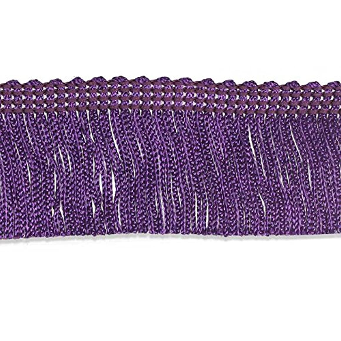 Decorative Trimmings 100% Rayon Chainette Fringe, 2