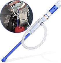 Sailnovo - Bomba eléctrica de Gasolina, Funciona con Pilas, Bomba de bidón, sifón, Bomba de Fluido, Bomba de Mano para líquidos como Aceite diésel y Agua