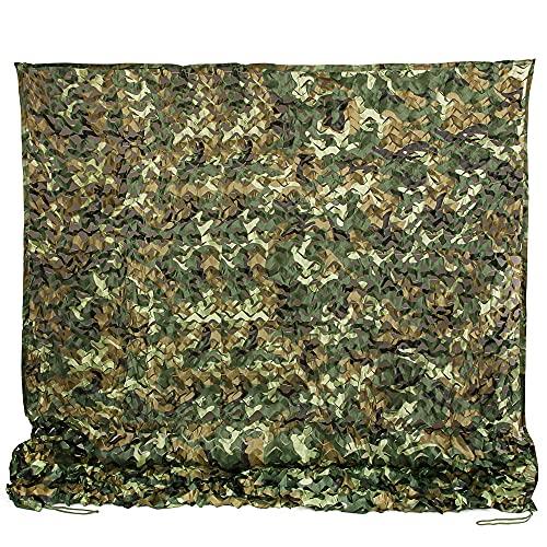 Ginsco 6.5ft x 10ft 2mx3m Woodland Camouflage Netting Desert Camo Net...